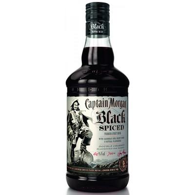 Капитан Морган пряный черный  50 мл