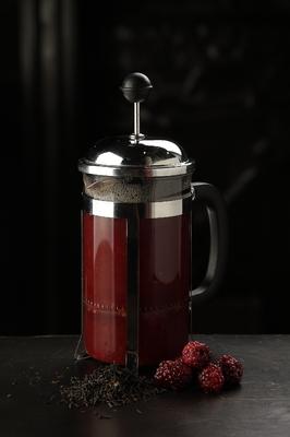 Ежевично-малиновый чай