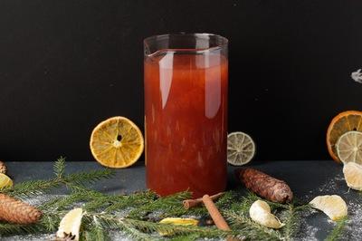 Чай малина-абрикос
