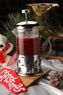 Ягодный согревающий чай