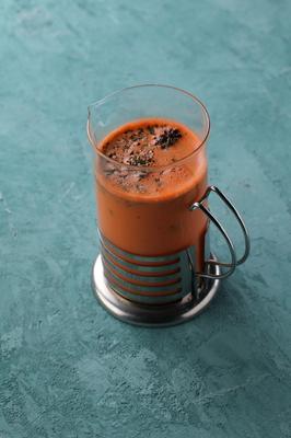 Морковный чай