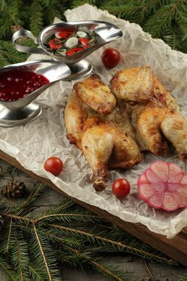 Цыпленок пряный