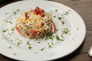 Салат с телятиной и дайконом