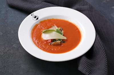 Гаспачо из спелых томатов