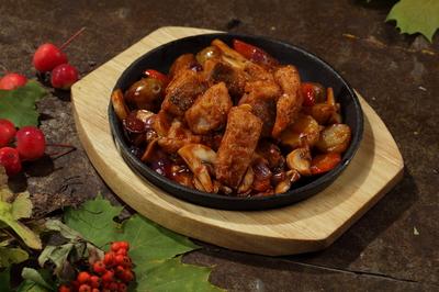 Куриные колбаски (со свиным шпиком) 50г