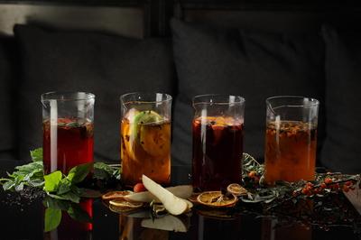 Чай черная смородина с базиликом