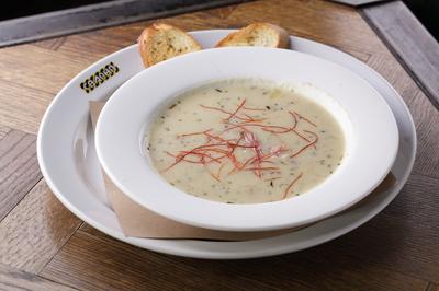 Крем суп патейто с беконом