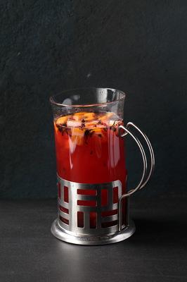 Чай клюква-маракуйя