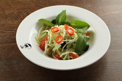 Салат капустно-огуречный
