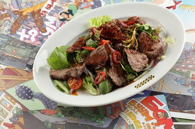 Салат с говяжьей вырезкой