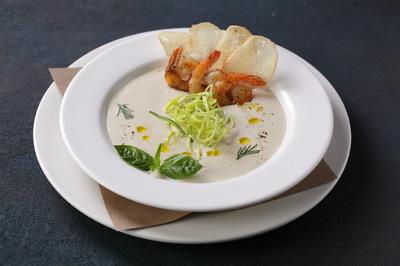 Суп крем из цветной капусты